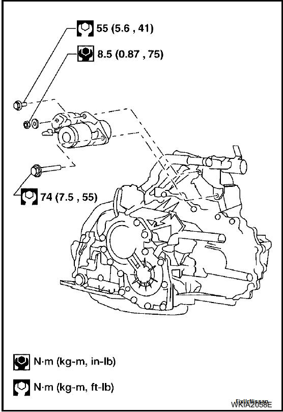 2005 nissan altima starter diagram  2005  free engine