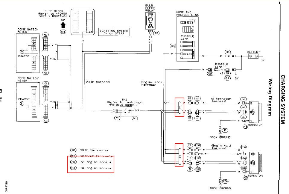 92 nissan pickup wiring diagram #4 1991 Nissan Pickup Engine Diagram 92 nissan pickup wiring diagram