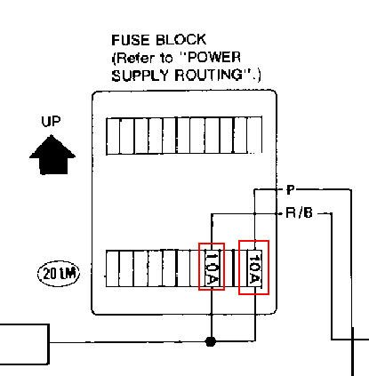 1985 nissan pickup fuse box diagram 1985 image 1993 nissan pickup quit working head lights fuse box two by relays on 1985 nissan pickup