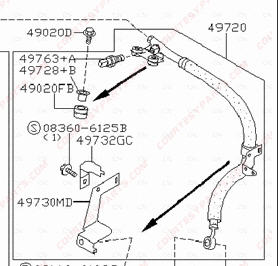 Fuel pump diagnose furthermore 544847 114896 22600 in addition 71oxl Pontiac Grand Am Engine Removal Instructions 2002 Grand besides 7pvlv Replace Power Steering Hose Chevy Silverado furthermore 71oxl Pontiac Grand Am Engine Removal Instructions 2002 Grand. on high pressure power steering hose