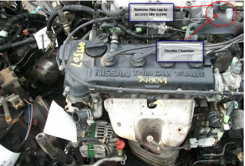 car carburetor location