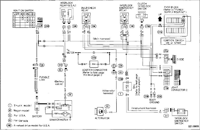wiring diagram for 2003 nissan pathfinder nissan wiring diagram