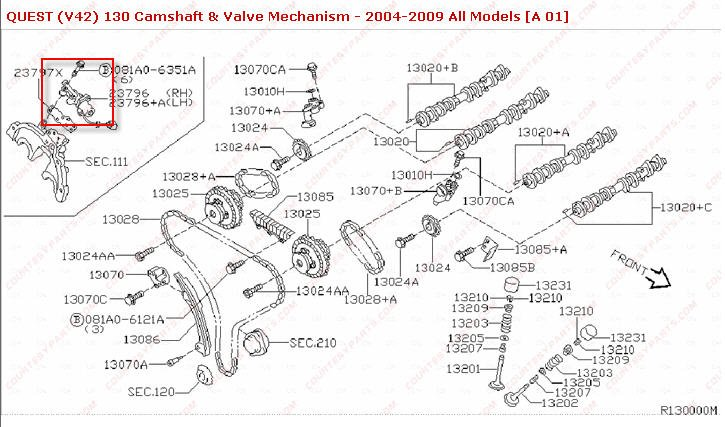 Quest Intake Valve Solenoid Loc additionally Nissan Infinti P P in addition Screenshot A E Ee A A C Ffbe B A F B Ffd further B F D in addition Egr Valve. on nissan intake valve timing control solenoid