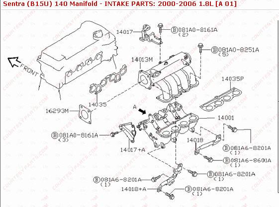 02 sentra swirl valve solenoid location