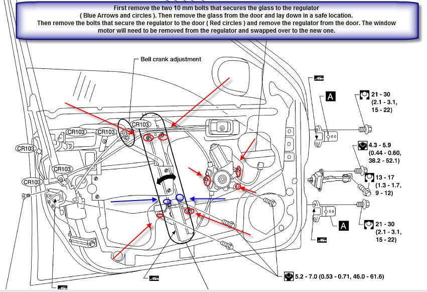Nissan xterra 2002 engine diagram get free image about for 2002 nissan altima window regulator