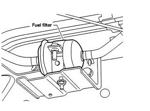 Nissan Xterra Fuel Filter Location