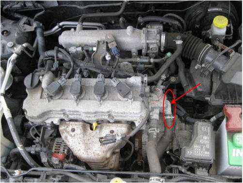 B F E D also  in addition B F A as well F together with B F E. on 2005 nissan pathfinder thermostat