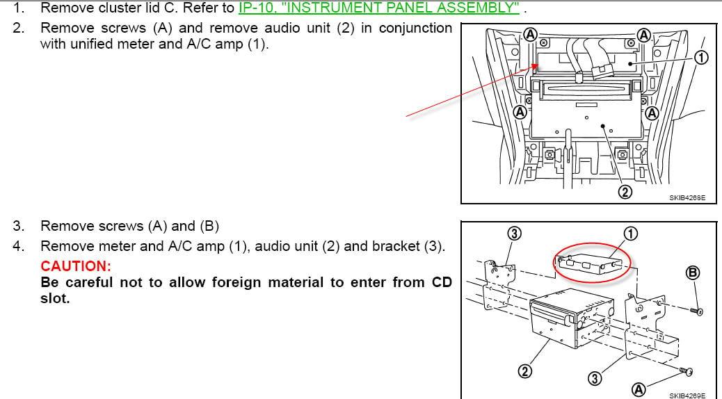 how to set area navigation infiniti 2006 qx56