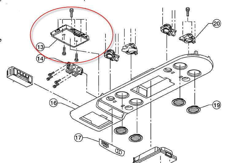 service manual  2009 nissan armada overhead console