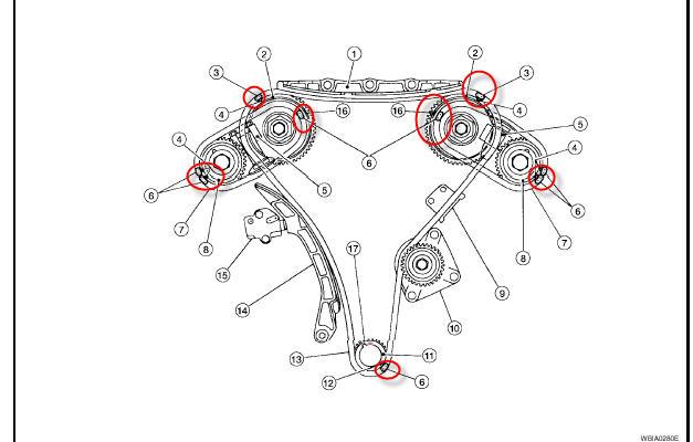 2006 Nissan Maxima Sl V 6 Dohc A T Timming Chain Noise