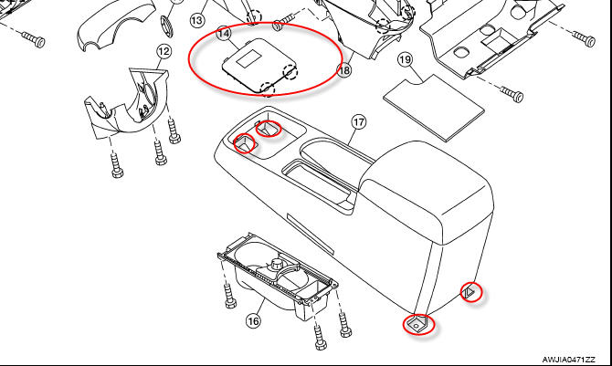 service manual  how to remove center console 1994 nissan sentra