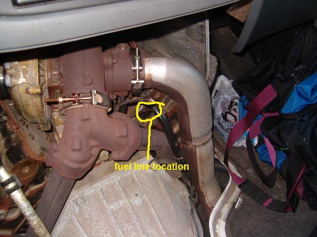 350 Ford 7 3 Diesel Leaks Fuel Near Rear Of Engine
