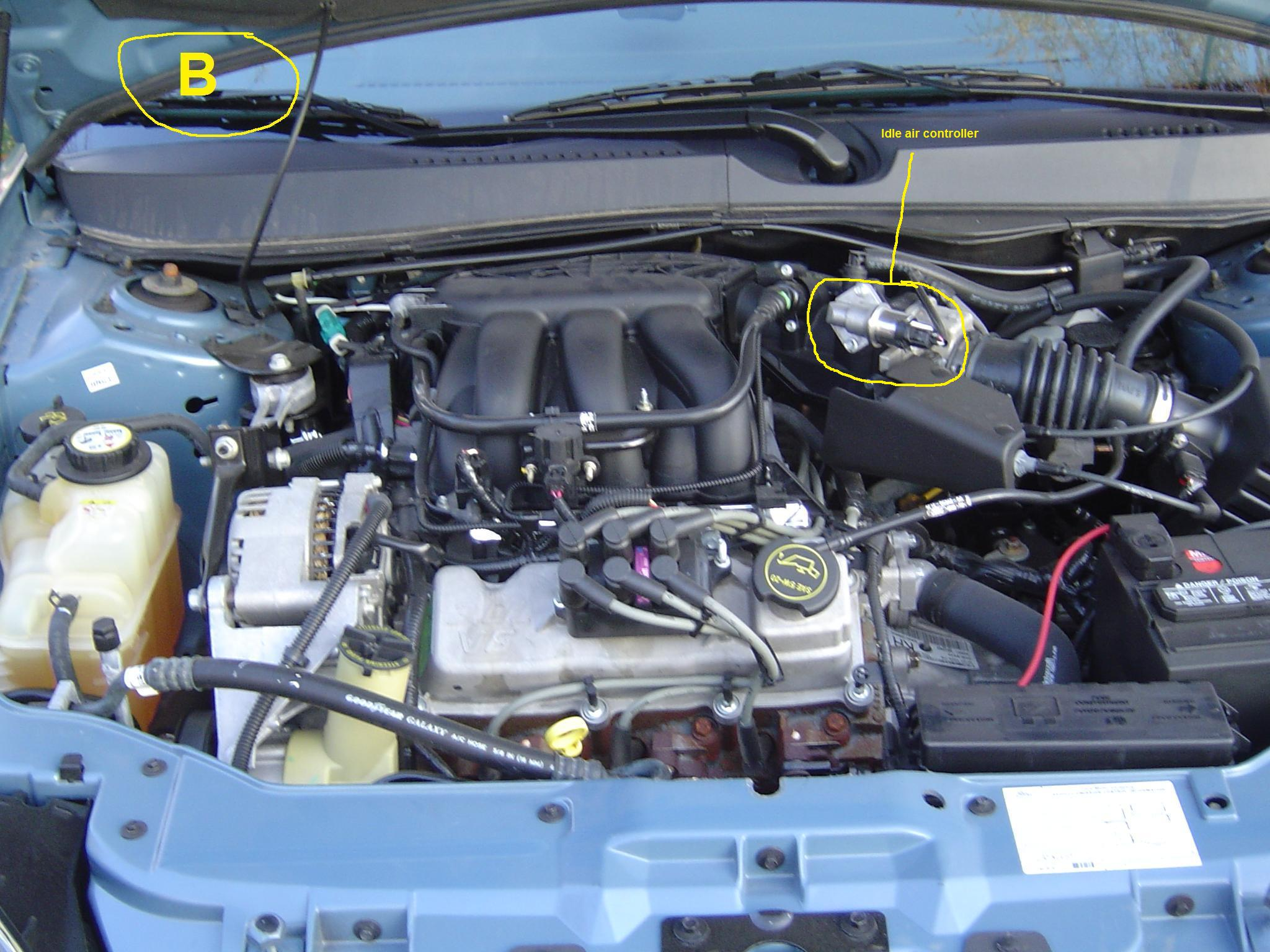 I have a 2003 Ford Taurus 6 cyl Flex Fuel engine Problem