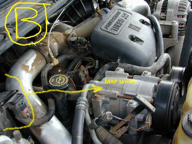 7 3 turbo boost sensor location  7  get free image about