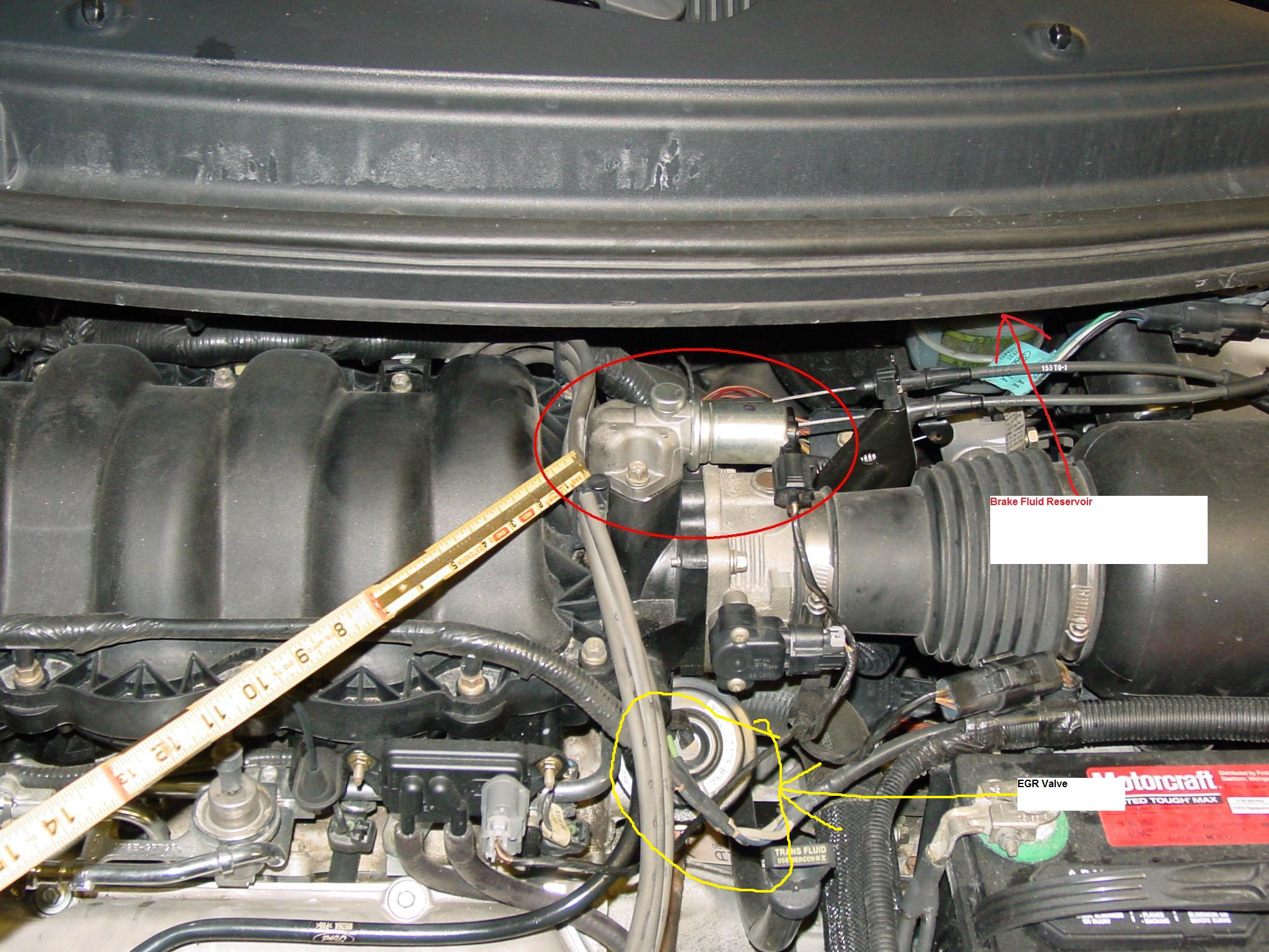 2003 windstar fuel filter location when i try to start my 2000 windstar it will just crank ...