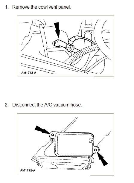 Windstar Vacuum Diagram