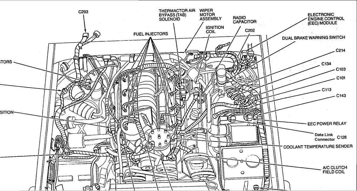 A on Bronco Fuel Pump Relay