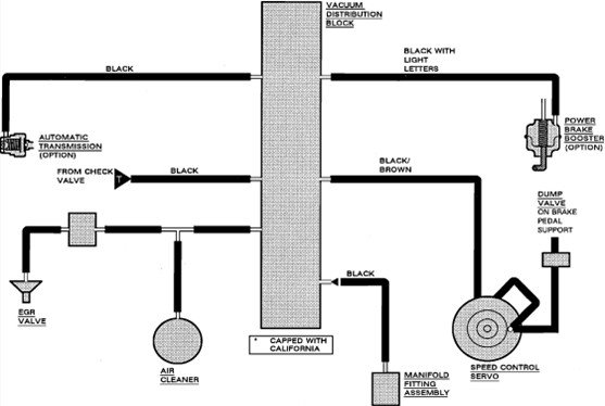 mustang vacuum line diagram  mustang  free engine image