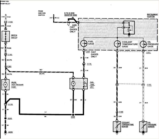 how do i troubleshoot 1987 bronco 2 fuel pump relay