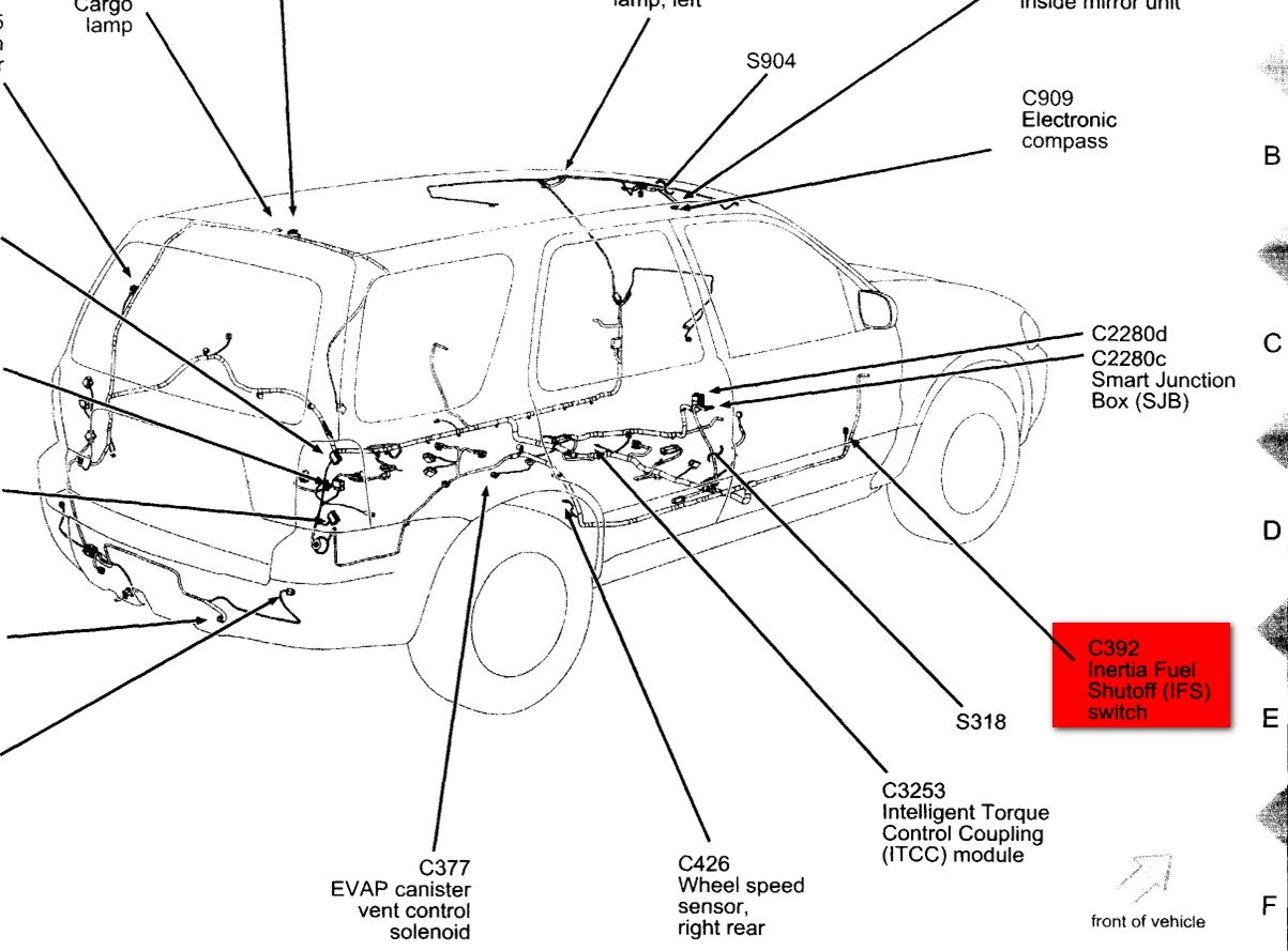 ford taurus firing order diagram  ford  free engine image
