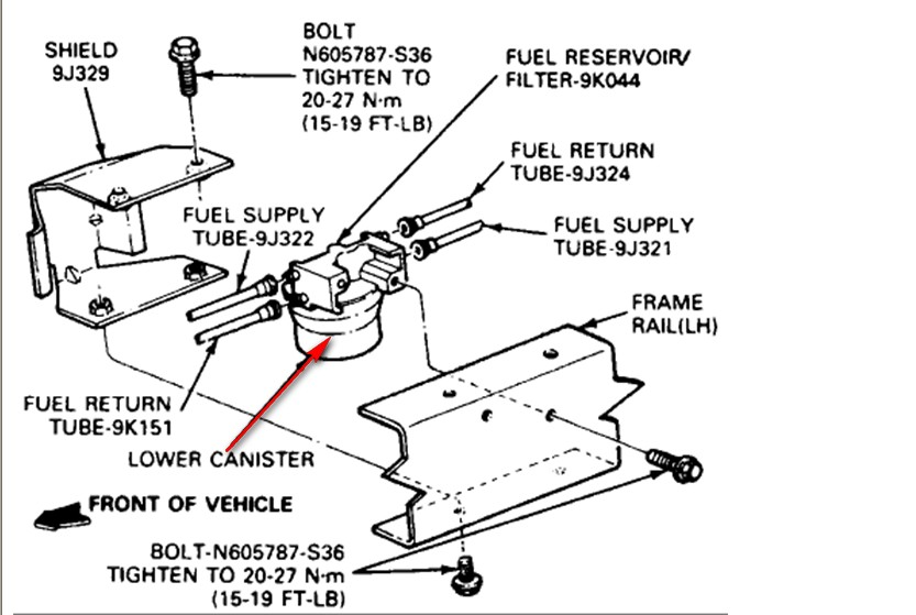 95 ford bronco fuel pump location  95  free engine image for user manual download