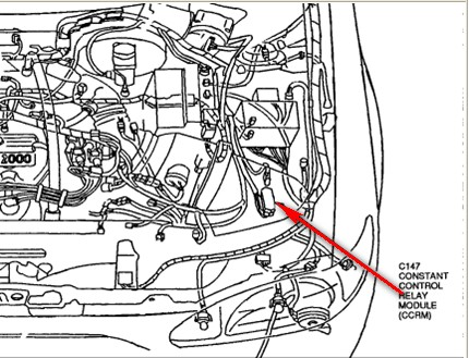 Mercury Sable Engine Cooling System Diagram as well Radiator System Diagram in addition Engine Coolant Thermostat Housing Cover Share furthermore Ford Explorer Cooling System as well 34xjv 97 Mercury Tracer Thaat Heating Replaced. on 1997 ford contour water pump