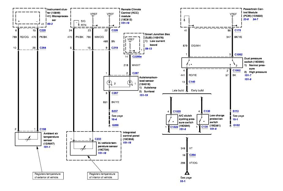 need wiring diagram from automatic climate control 2005 2005 ford wiring diagram 2005 ford wiring diagrams