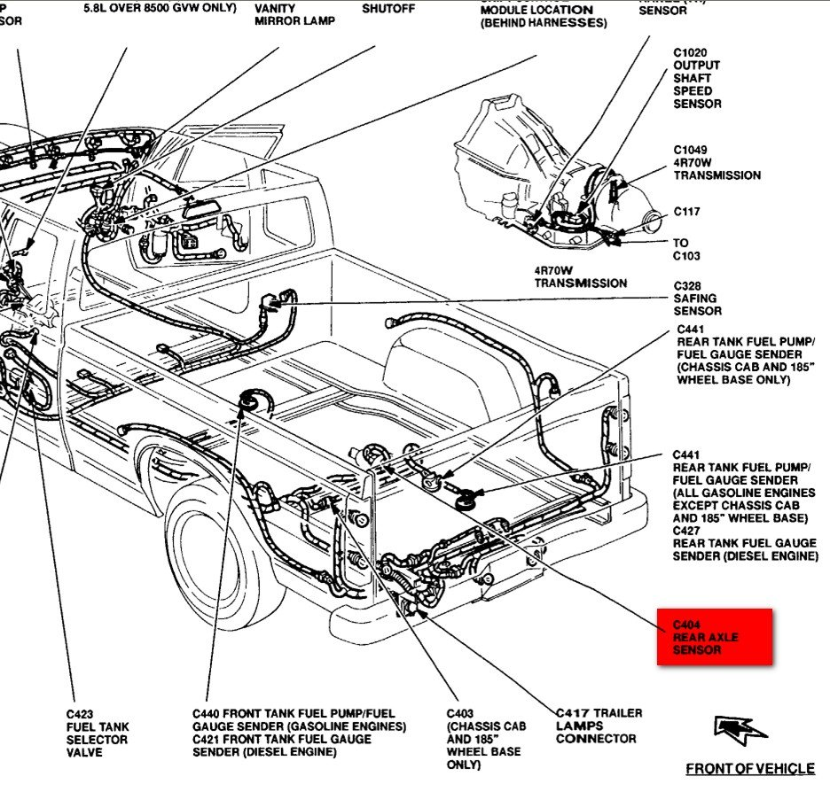 map sensor location 2002 ford explorer  map  free engine