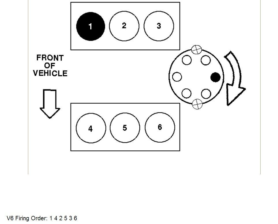 Can Someone Help Me With The Firing Order On A Ford Taurus Wiring Diagram