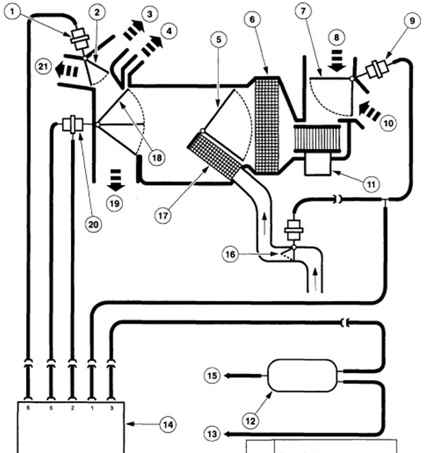 1998 Ford Explorer Engine Diagram: I Have A 1998 Ford Explorer The Engine Melted The Vacuum