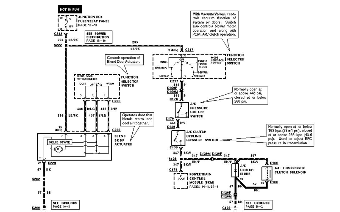 expedition  pressure switch  compressor clutch  circut  locate diagram