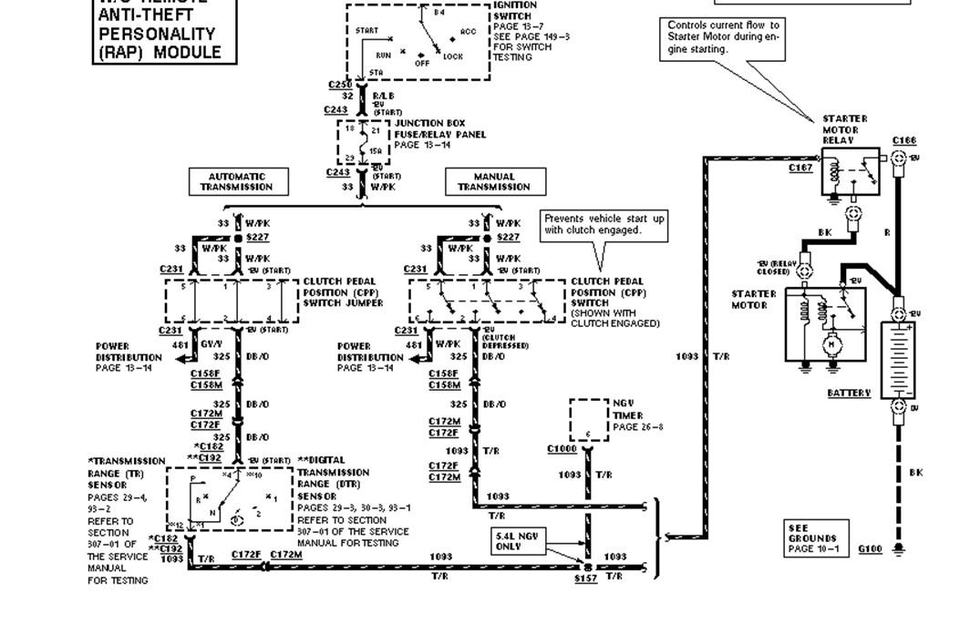 starter motor relay clicking