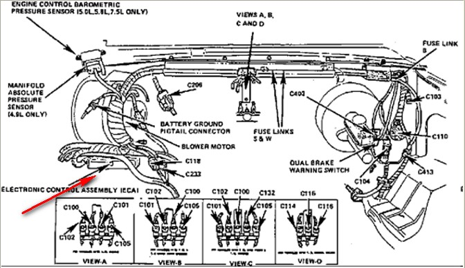 1989 ford: eldorado..motorhome..dumping..5 injectors go 1989 f150 fuel system diagram 4x4 1989 ford fuel system diagram