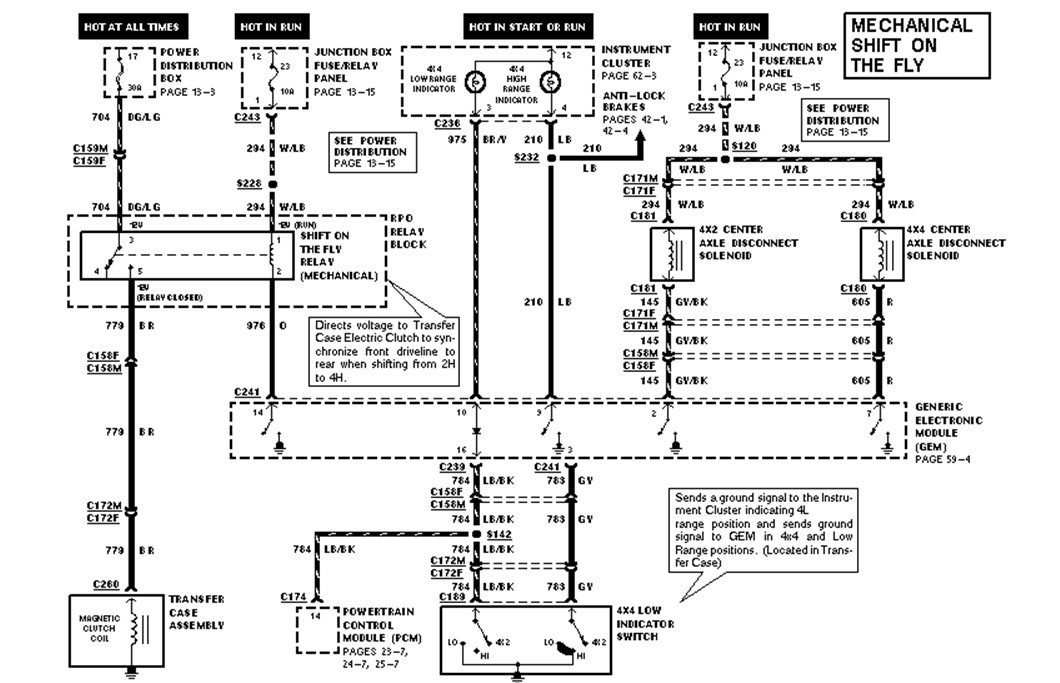 1997 ford f 150 diagram i need a 1997 ford f-150 4x4 electric diagram for the 4x4 unit #10