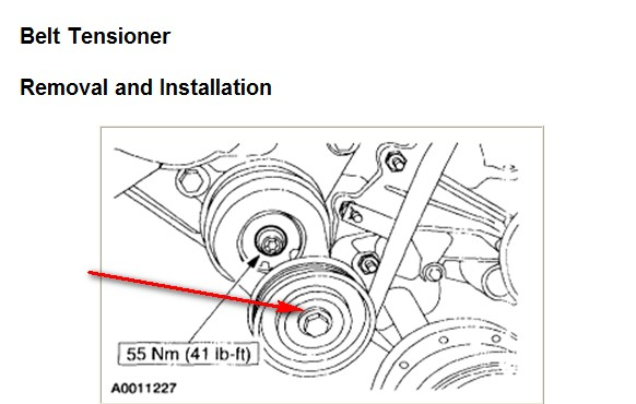 how do i release my tension on my f150 2002