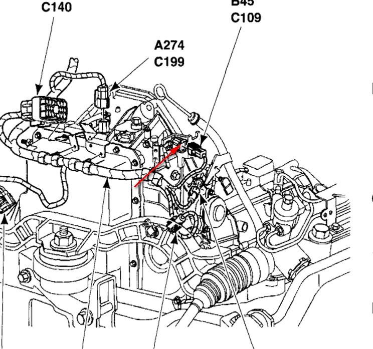 ford knock sensor code