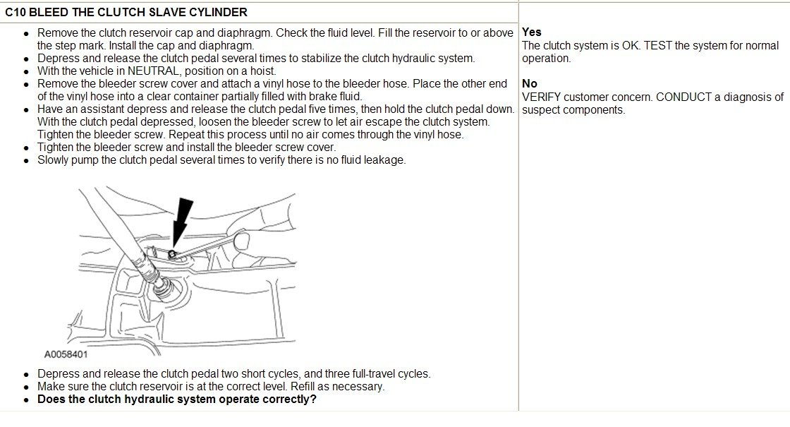 Adjust The Clutch On A Manual Transmition  2003 Ford Ranger