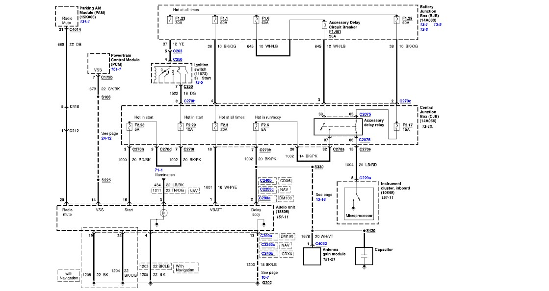 2006 lincoln zephyr wiring diagram 2007 chevrolet tahoe