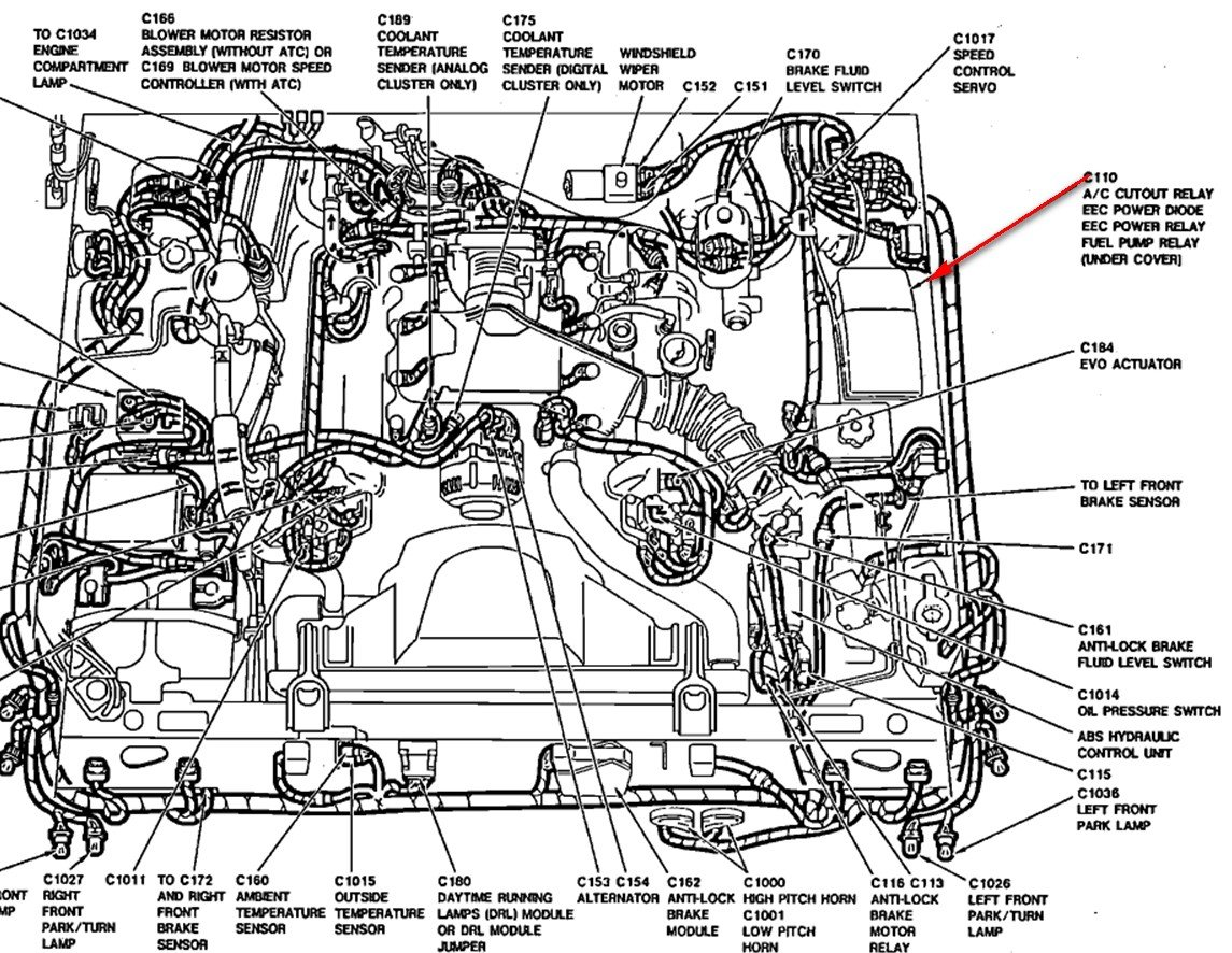 Ford Crown Victoria Engine Diagram
