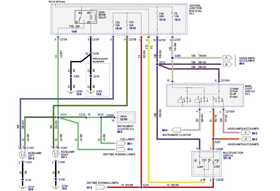 2008 f150 xlt with auto headlights/foglights. i am ... whelen siren wiring diagram whelen tir3 wiring diagram #7