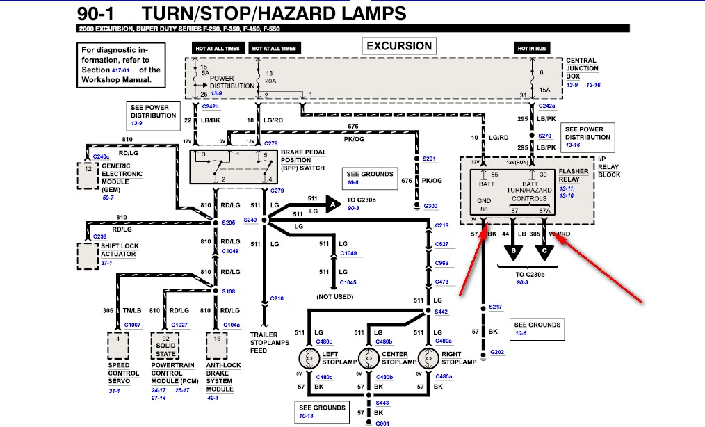 wiring diagram for 1999 ford f550 truck  wiring  get free