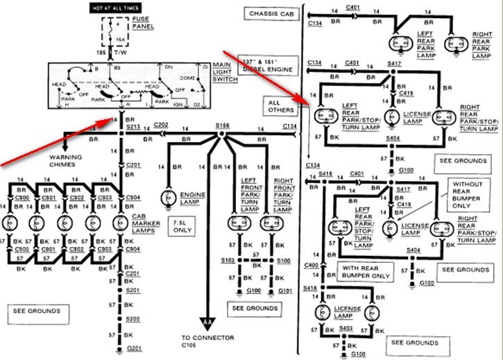 trailer wiring diagram for ford pick up html