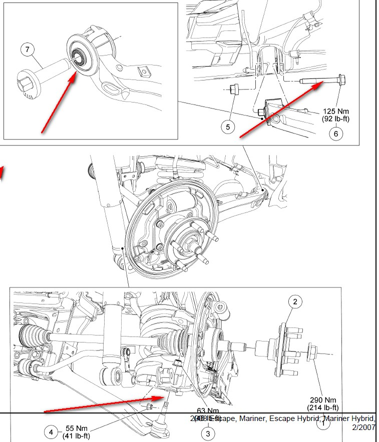 Ford Escape Rear Suspension Diagram - Best Suspension 2017