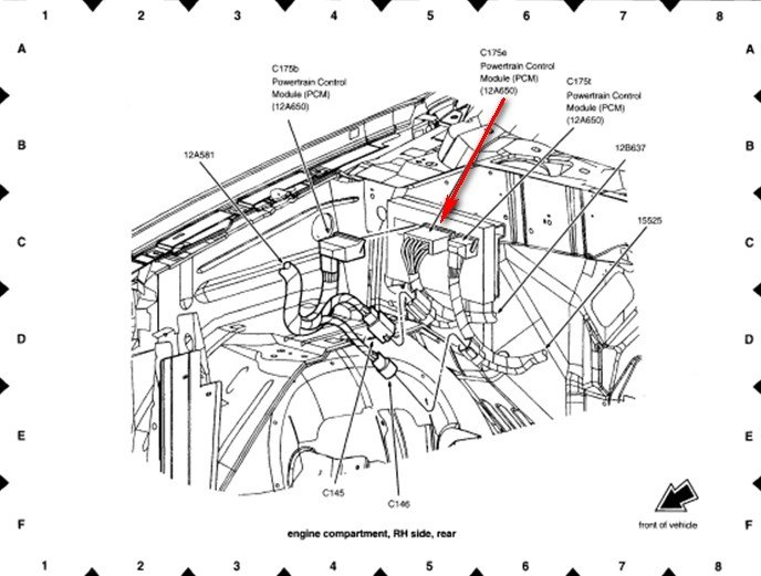 engine diagram for 2004 lincoln ls html