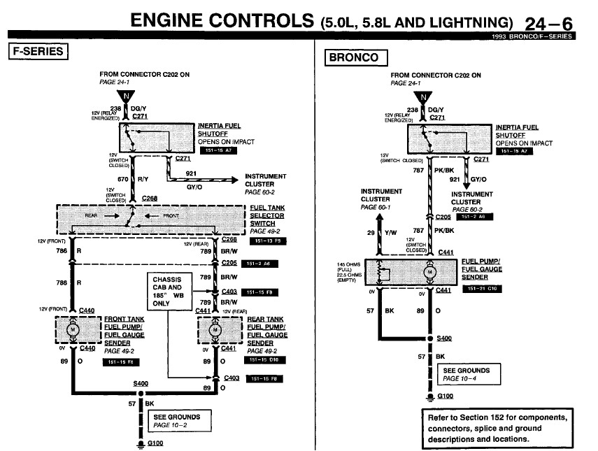 2006 ford f150 fuel pump wiring diagram need to know where the signal wire to the fuel pump starts ...