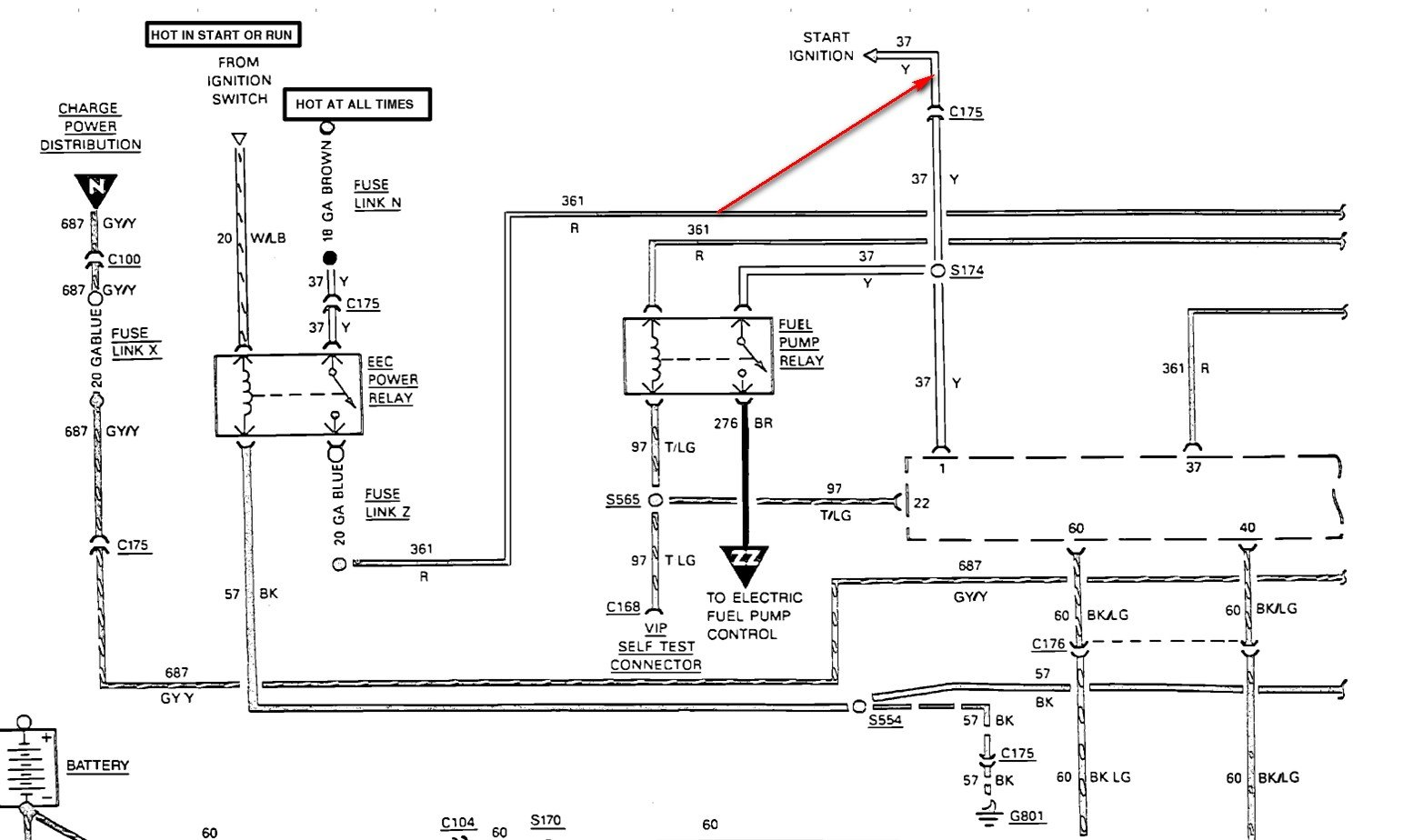 1988 ford f150 ignition wiring diagram 1988 image 1988 f150 fuel gauge wiring diagram 1988 auto wiring diagram on 1988 ford f150 ignition wiring