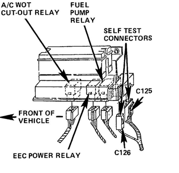 service manual  how test fuel pump relay on a 1990