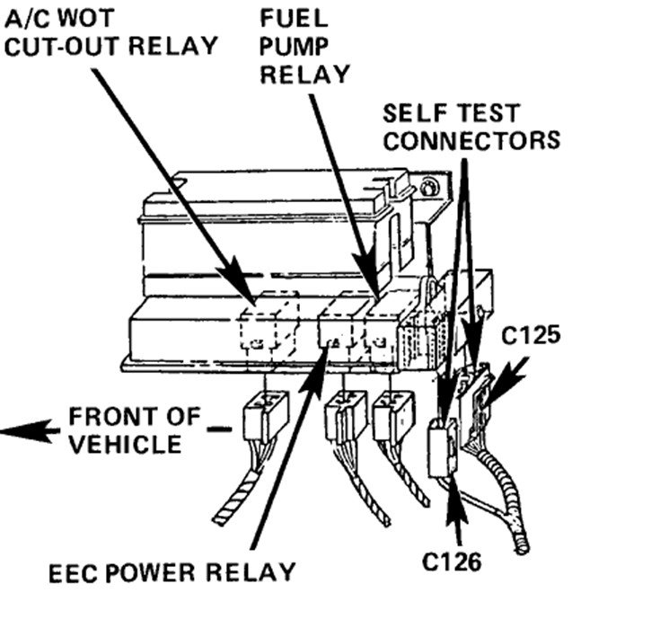 service manual  how test fuel pump relay on a 1990 volkswagen passat