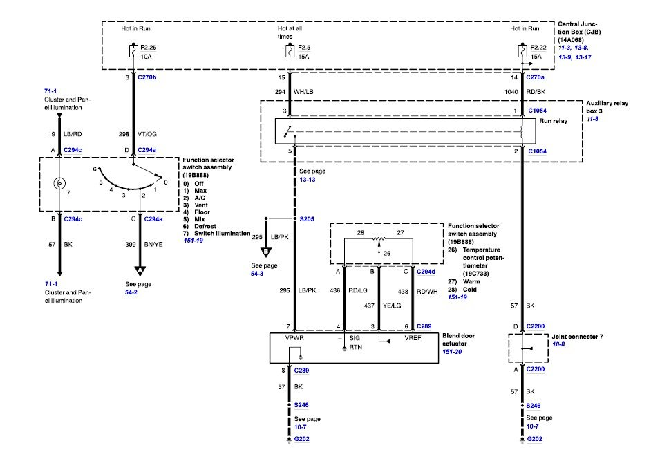 2006 ford f650 a c wiring diagram there are 3 diagrams for the complete ac system on the f 650 i have enclosed all