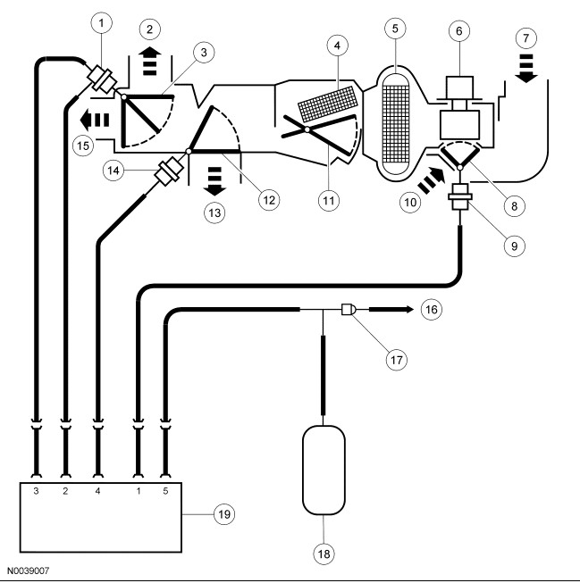 1996 mercury cougar hvac fan wiring diagram
